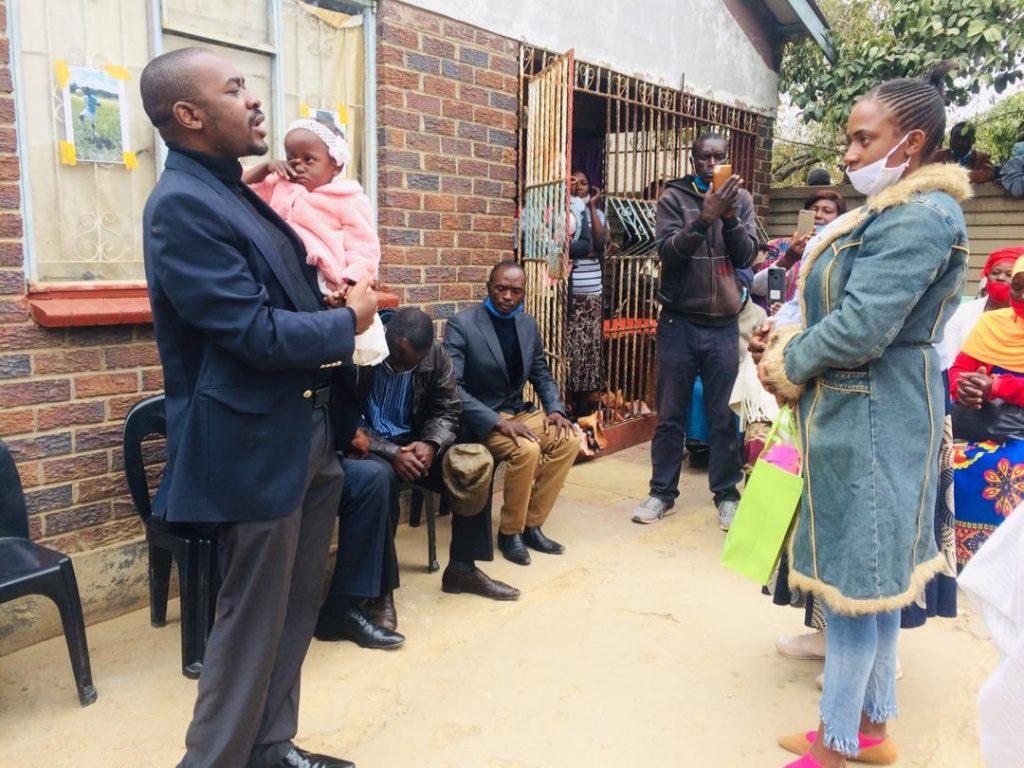 Chamisa Visits Kelvin Choto Family