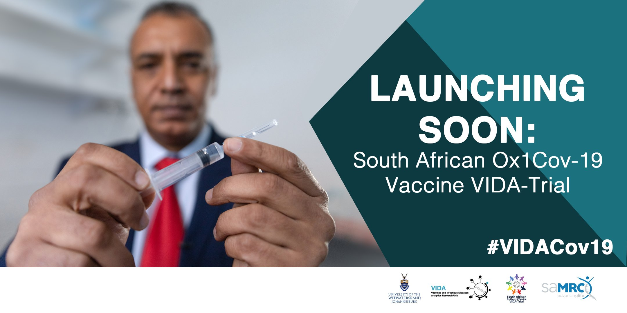 Africa's first covid19 vaccine trial