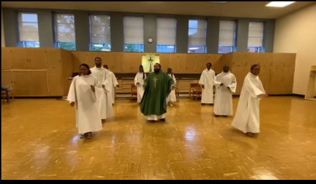 Catholics Take Master KG's Jerusalema Dance Challenge To Another Level