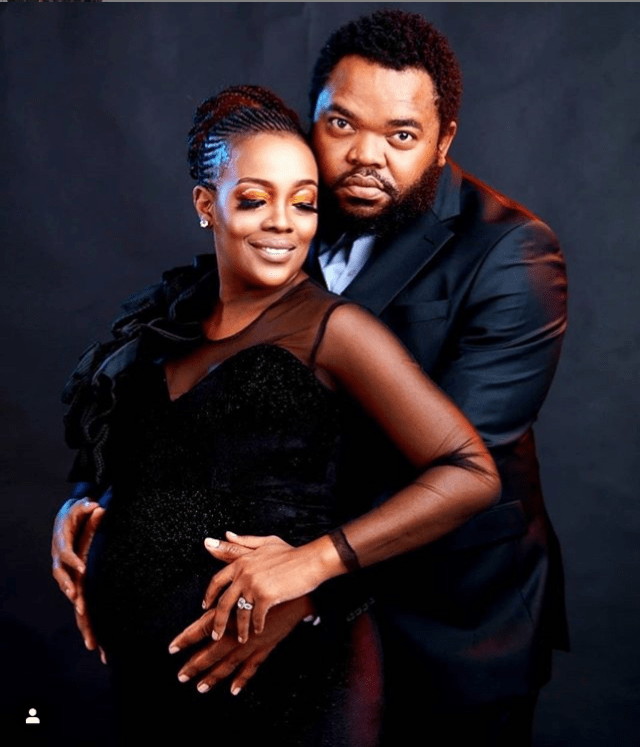 ExQ and Mandisa show off baby bump