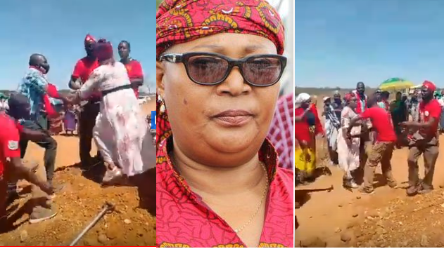 Drama At A Funeral As Mourners Humiliate MDC T Councillor