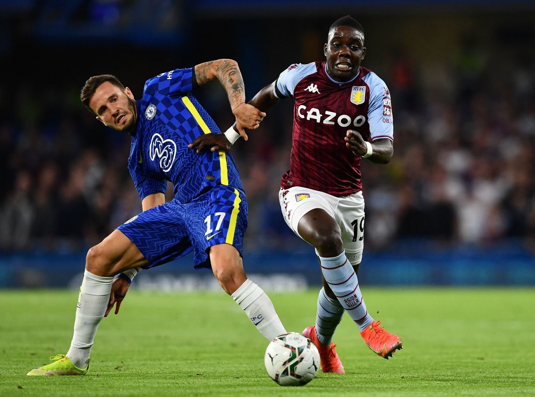 Heartbreak For Marvelous Nakamba: Aston Villa Star Apologises After Missing Penalty In Chelsea Defeat - iharare.com